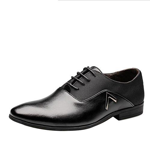nice Men pointed toe Business Dress Formal Leather Shoes Flat Oxfords Loafers Slip On