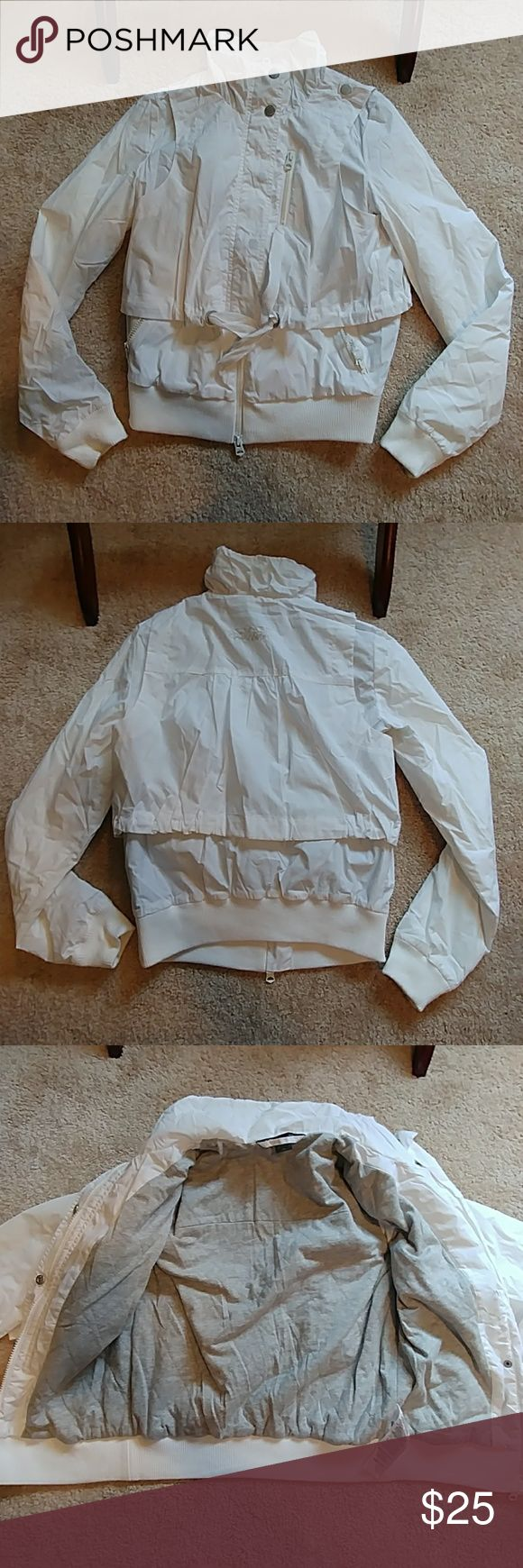 ARMANI EXCHANGE JACKET ARMANI EXCHANGE Jacket!!! It does have tiny dirt marks from stored in closet. Looks brand new, only worn once. Armani Exchange Jackets & Coats