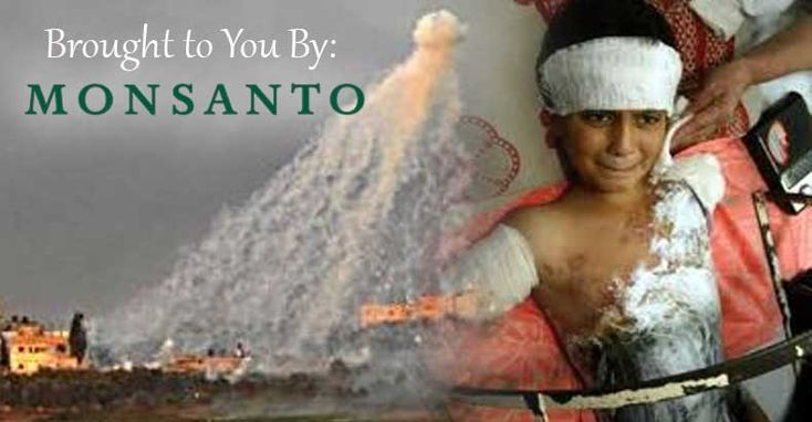 Monsanto in Bed With the Pentagon: White Phosphorus Manufacturing Affords Agrichem Giant Special Protections