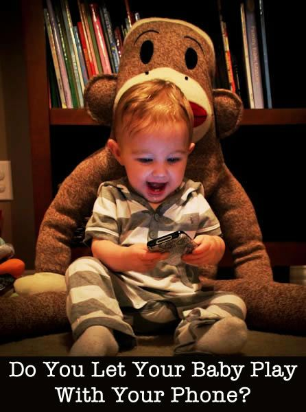 Do you let your baby play with your smart phone?