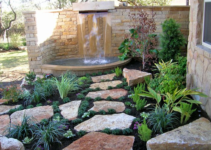 25 best images about rock border on pinterest walkways for Landscaping rocks austin