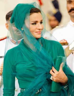 Жена шейха Катара Mоза Бинт Насер Аль Мисснед