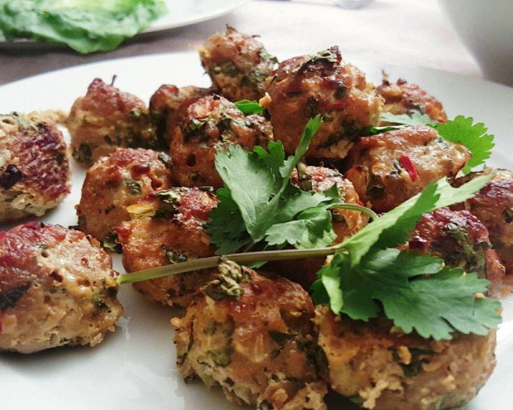 thai-kjøttboller
