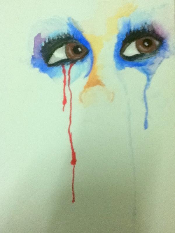 Let it Fall. Watercolour 20x30cm
