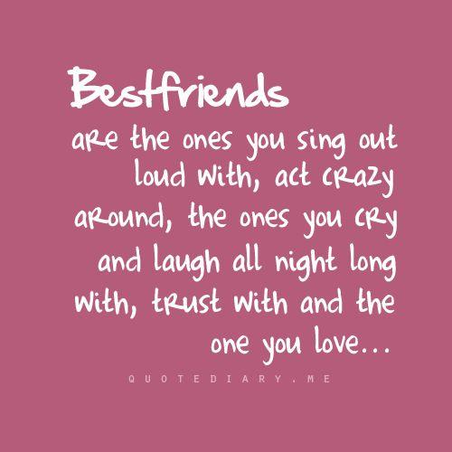 Thanks best friend!