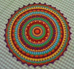 Atelier Marie-Lucienne: Lucienne's Summer Mandala – Instructions in 4 parts,…