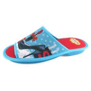 Zapatillas de Bio casa zapato - Turquesa, 39