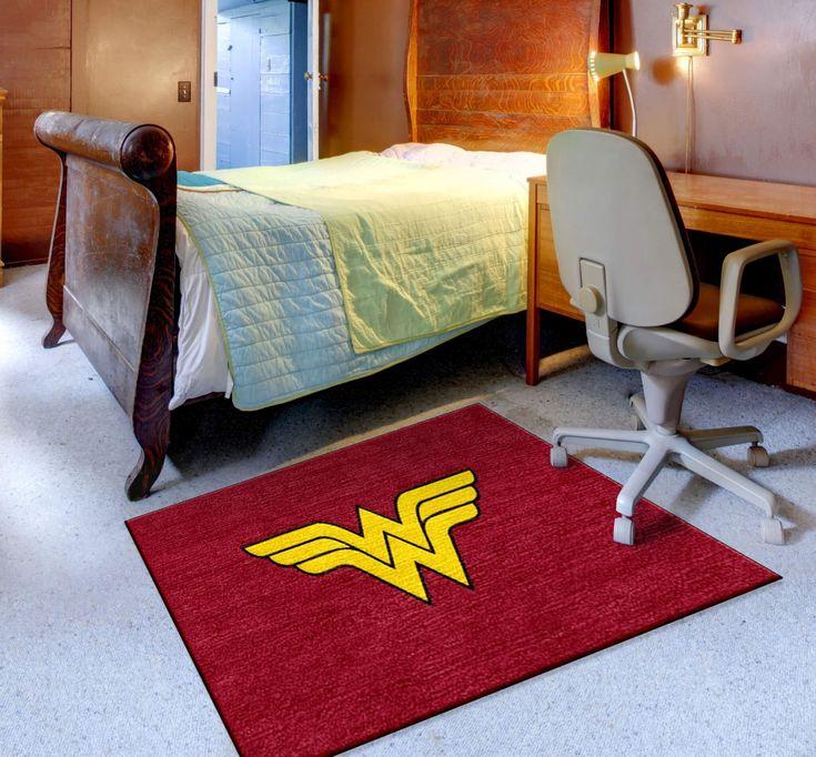 Wonder Woman Superhero Rug  FREE SHIPPING