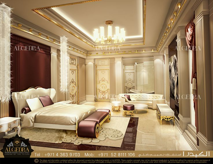 Stunning bedroom room design by algedra interior design for Interior and exterior design