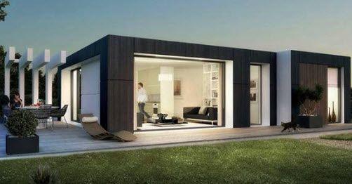 Extension modulaire pour maison - Maisons préfabriquées