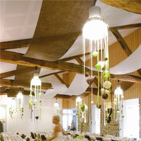 Las 25 mejores ideas sobre decoraci n para techo de boda - Decoracion para techos ...