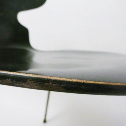 Paire de chaises Fourmi noire Arne Jacobsen