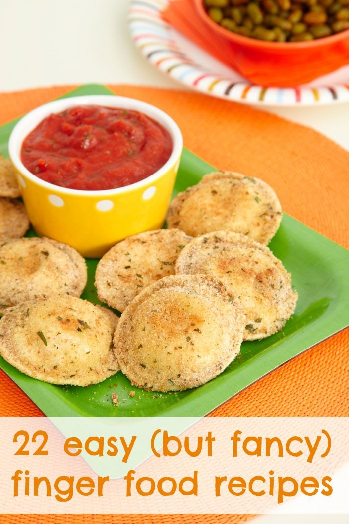 Quick and easy holiday finger food recipes