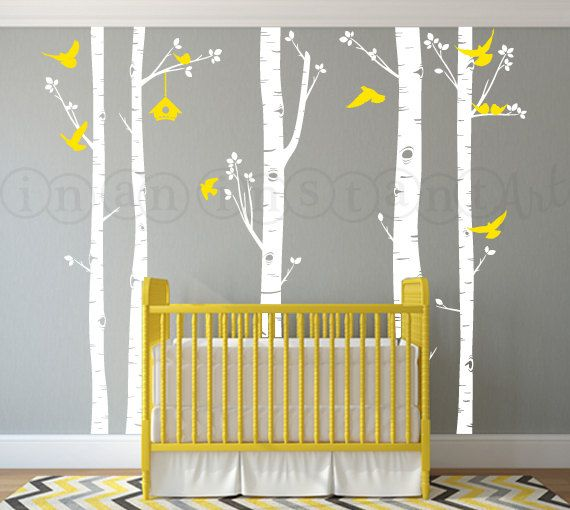 Best Wall Decals Images On Pinterest Wall Stickers Tree Wall - Nursery wall decals gender neutral