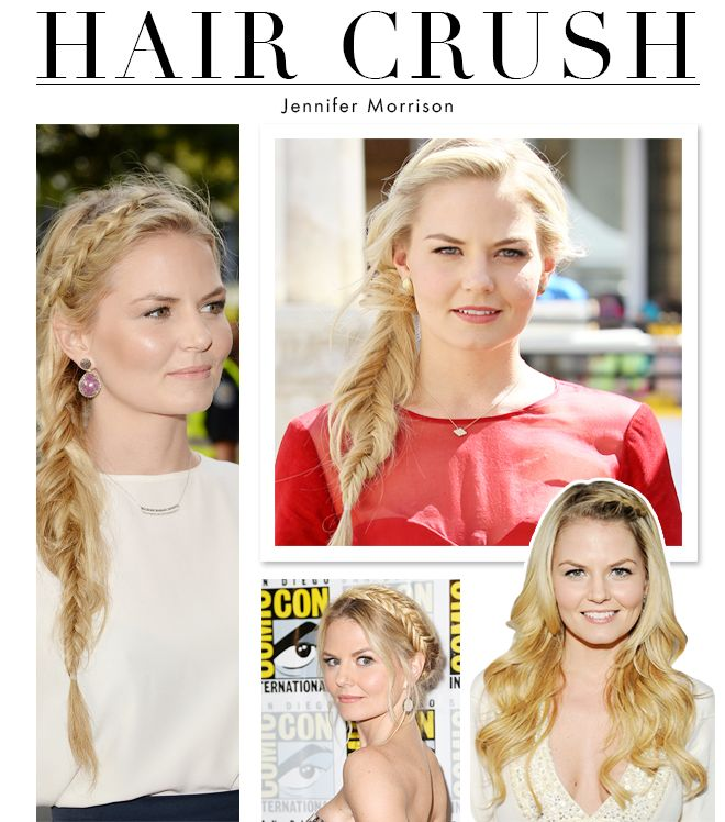 The Best of Jennifer Morrison's Braids