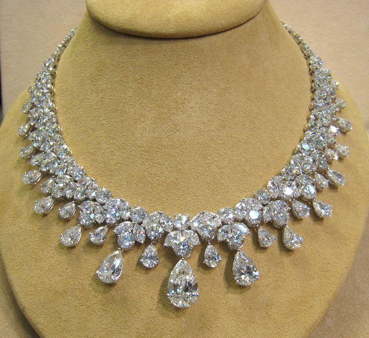 Most Expensive Jewelry Designers | ... : Diamond Necklace Patterns , Diamond Set jewels , Necklace Designs