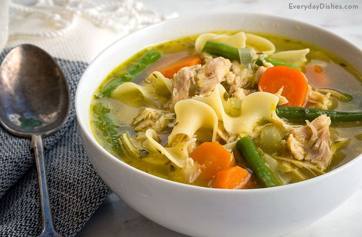 Save time with an easy chicken noodle soup recipe that only tastes like it's cooked all day! Get the same hearty taste by making a quick and flavorful base.