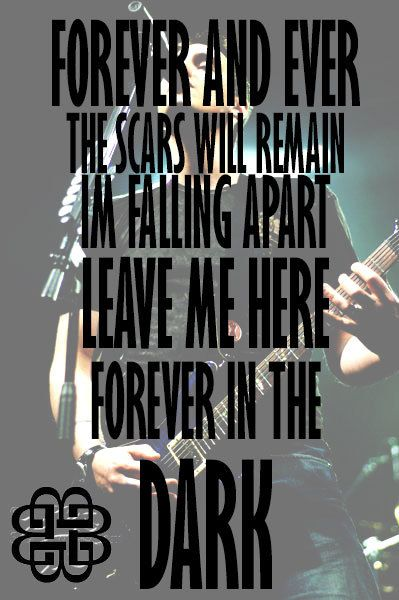 "Some of my favorite Breaking Benjamin lyrics. They are from the song ""Give me a Sign"""