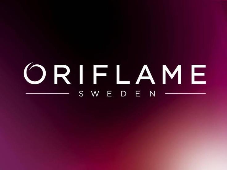 Burgundy Oriflame logo
