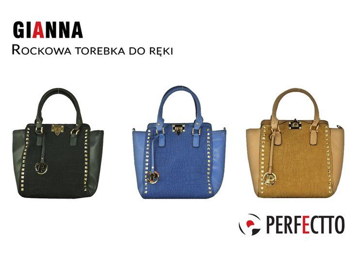 Mamy dobrą wiadomość dla osób, którym spodobwały się glam rockowe torebki. :) W sklepie Perfectto możecie dostać Giannę, czyli rockową torebkę w 3 kolorach: http://www.perfectto.eu/gianna-rockowa-torebka-do-reki #glamrock #rockbags