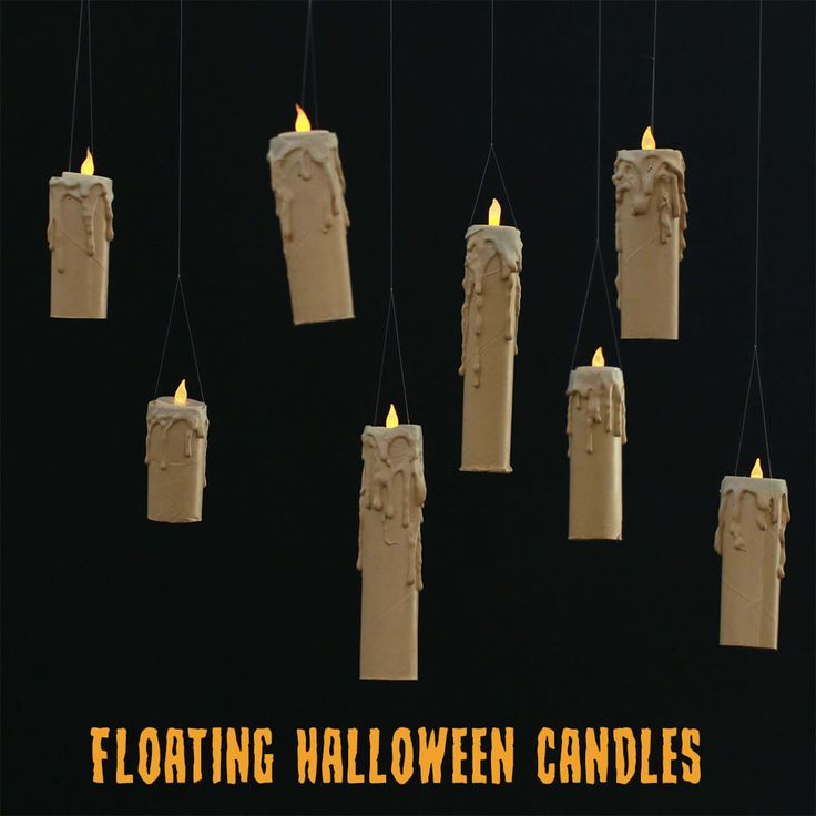 Make These Floating Candles For You Halloween Soirée ...