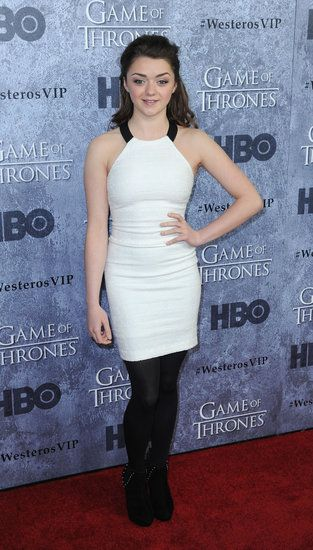 Maisie Williams, who plays Arya Stark, told us she loves Cut the Rope at the Game of Thrones premiere.