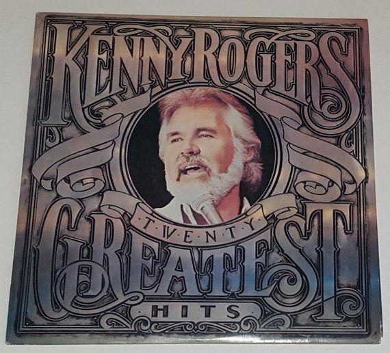 Kenny Rogers Twenty Greatest Hits 1983 Liberty Vinyl 12 Vintage Vinyl Records Vinyl Record Album Album Cover Art
