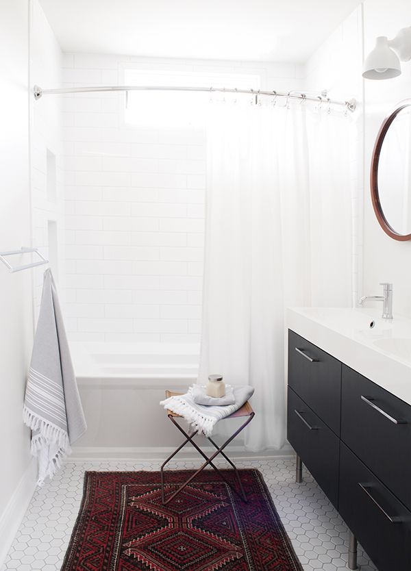 See how we styled five looks for a spring bathroom refresh by swapping out simple textiles - modern to boho to feminine, we've got every style!