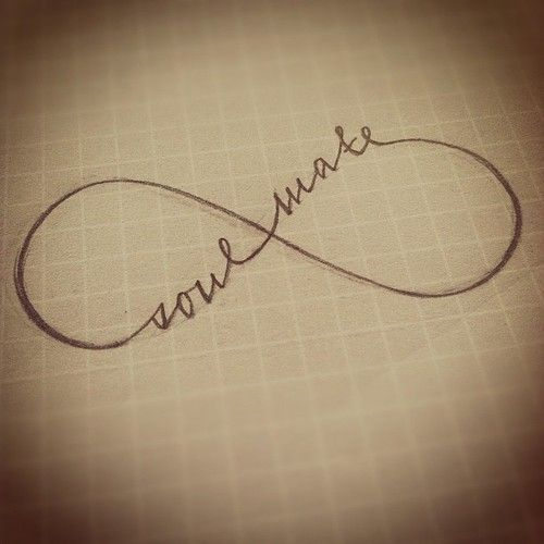 soulmate tattoo | Soul Mate Symbol | tattoo # soulmate # calligraphy # ... | Tattoos