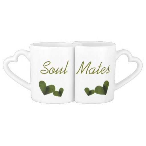 Soul Mates Lovers Mugs $29.95 for the set #soulmates #love #anniversary #wedding