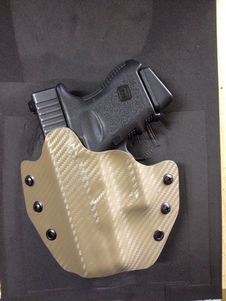 how to make your own kydex holster
