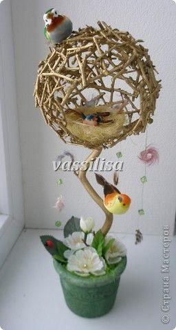 Бонсай топиарий День рождения Моделирование конструирование Дерево счастья в счастливую семью  фото 1