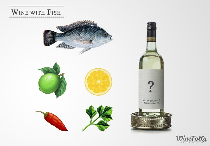 15 best drink pairings images on pinterest seafood for White wine with fish