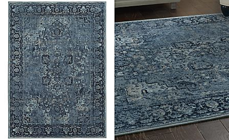 Kenneth Mink Spectrum Mod Heriz Denim 5 3 Quot X 7 6 Quot Area Rug