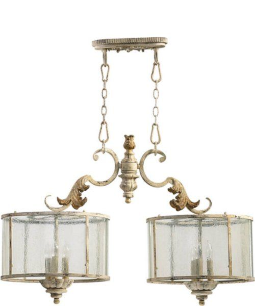 #Quorum Florence 6-Light #Pendant Pachment White 6537670
