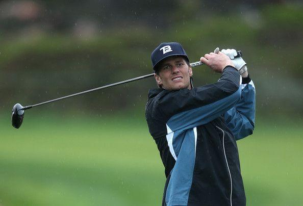Tom Brady - AT&T Pebble Beach National Pro-Am: Round 2