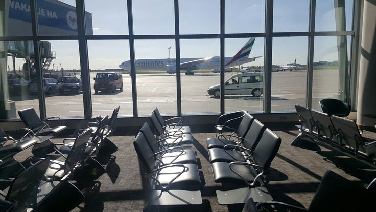 Relaxation room in Non-Schengen zone, Chopin Airport. Pic. Przemysław Przybylski