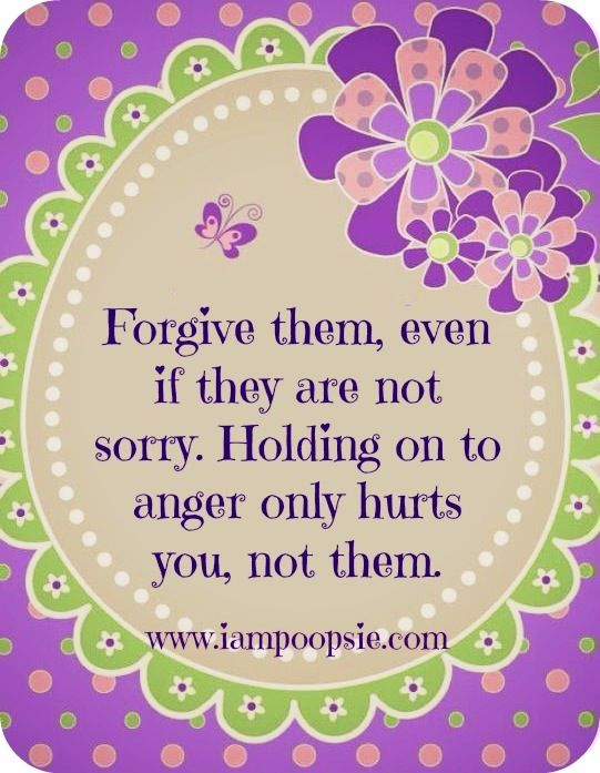 Forgiveness Quote Via Www.IamPoopsie.com