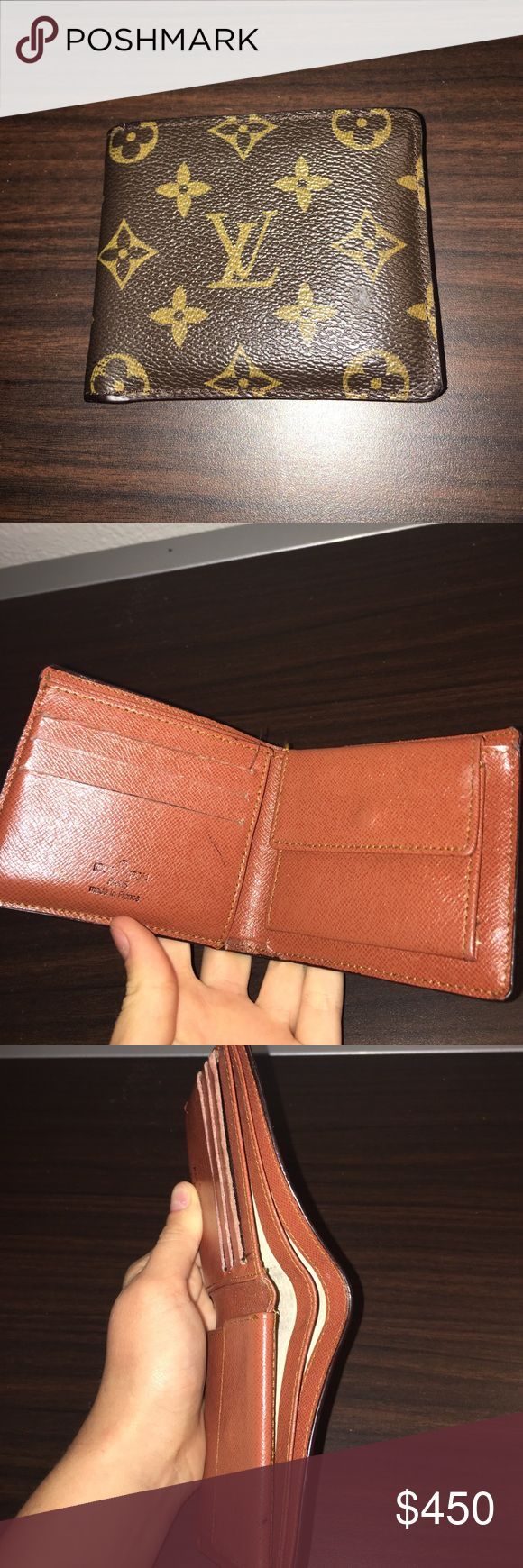 Authentic Louis Vuitton men's wallet Authentic, bought in Paris, perfect condition Louis Vuitton Bags Wallets