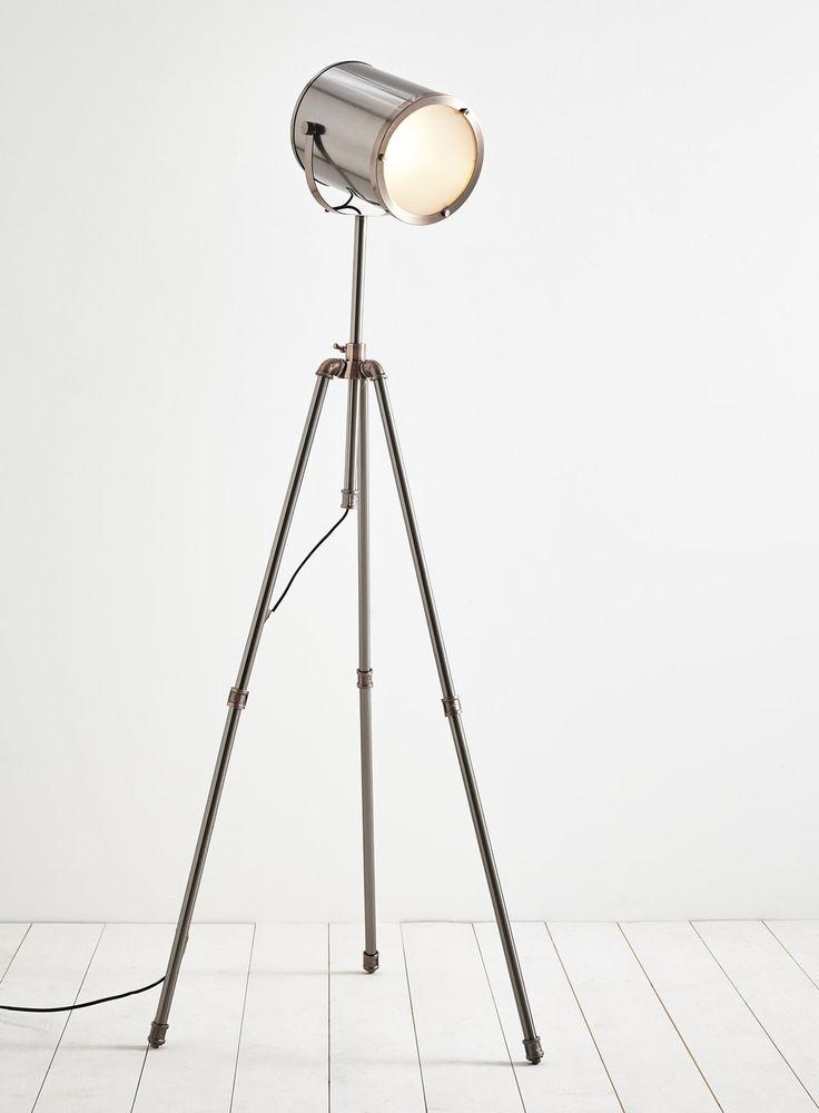 Photo 2 of Isaac camera tripod floor lamp