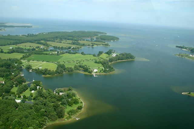 Chesapeake Bay and Dymer Creek