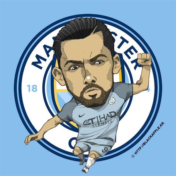 Manchester City No.9 Nolito Fan Art