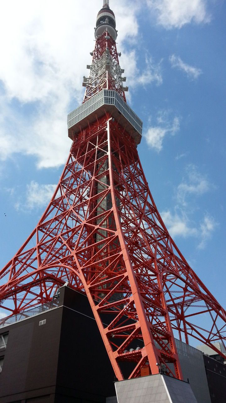 This is an iconic landmark of #Tokyo. It serves both as a communications hub and a major tourist attraction at 333m.
