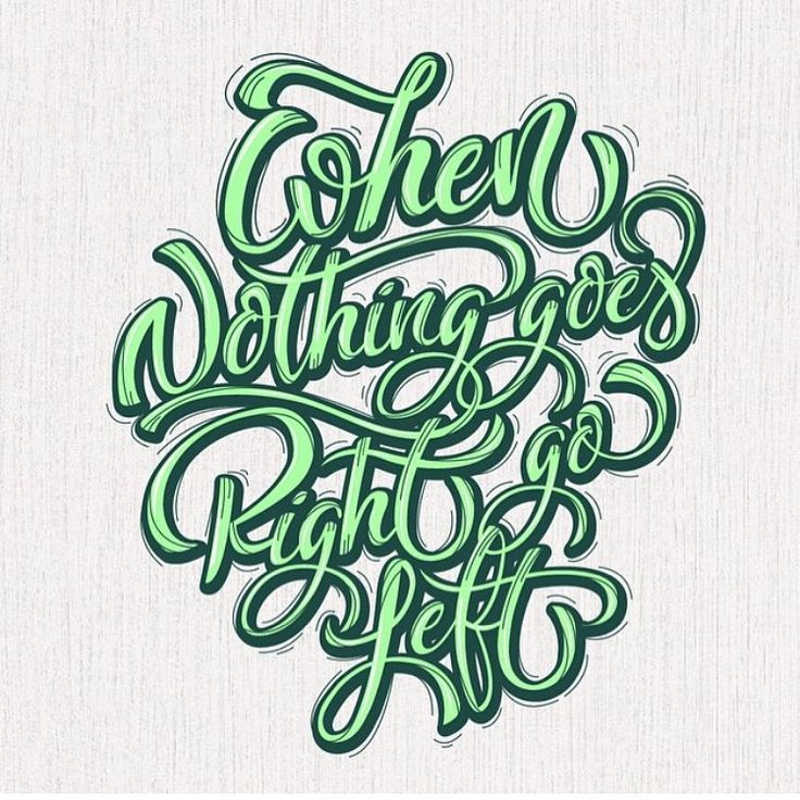 Back to oldies on weekend!! This lettering it's on @typism book 2