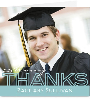 108 best graduation parties and announcements images on pinterest 2012 blue thanks overlay graduation thank you card expocarfo Gallery