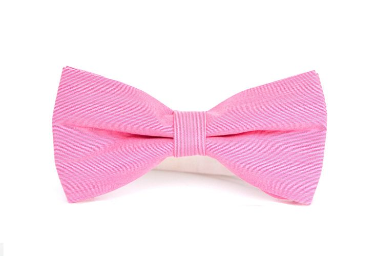 Różowa mucha męska - classic. Do kupienia w sklepie internetowym Madame Allure!