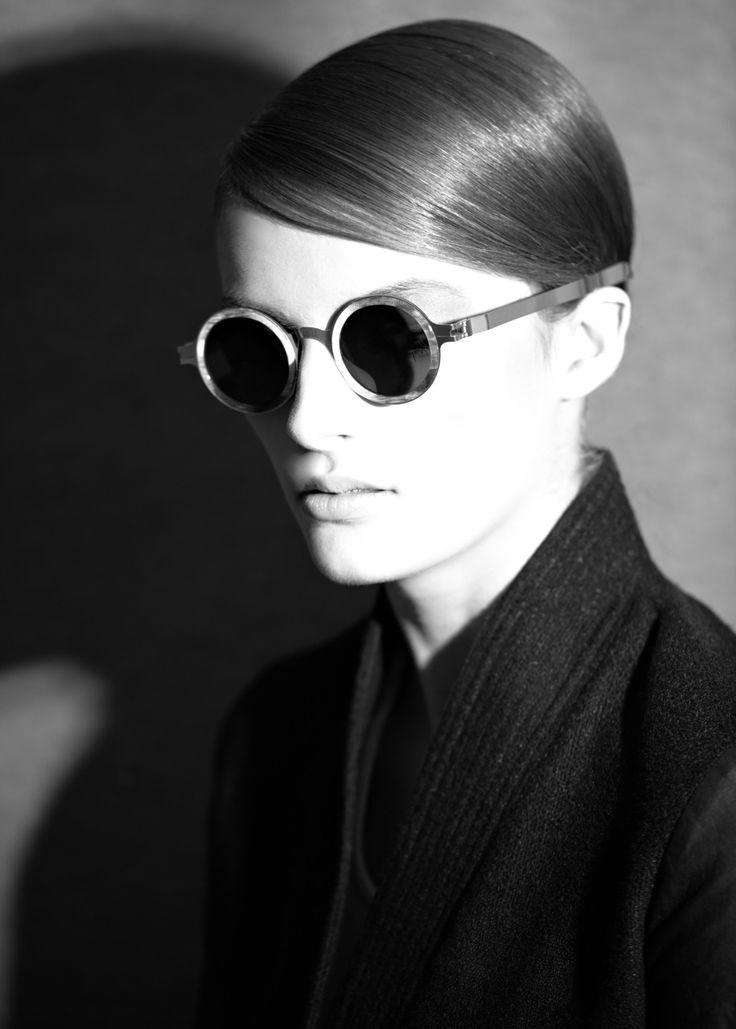HAOYUXIANG Eine Retro-Brille Männer Und Frauen,BlackColor