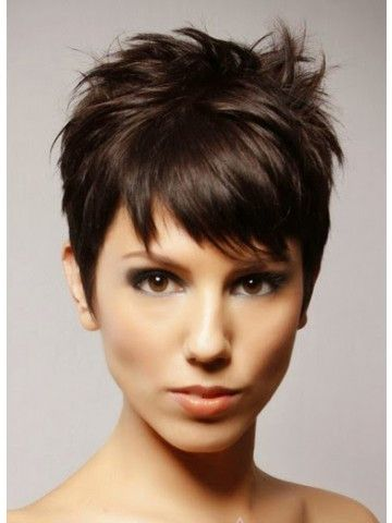 Synthetic Hair Boy Cut Straight Wigs