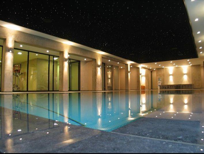 Amazing pool in mansion designed by Peter Agterberg. Vinkeveen, Netherlands