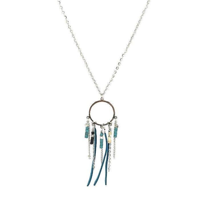 Je vous présente l'idée cadeau tendance en matière de bijoux fantaisie. Les bijoux attrape rêves sont devenus hyper tendance! Voici ma petite sélection de collier attrape rêve et bracelet att…